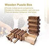 AIEVE Puzzle Box, Magic Box Wooden Puzzle Box