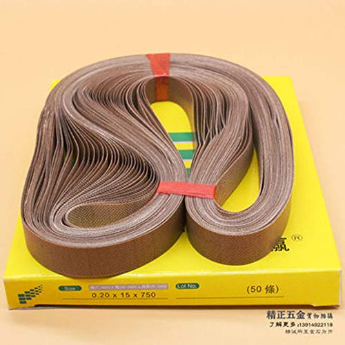 WOWGOGO 50pcs/lot Teflon Belt for FR-900 Continuous Band Sealer (750x15mm)