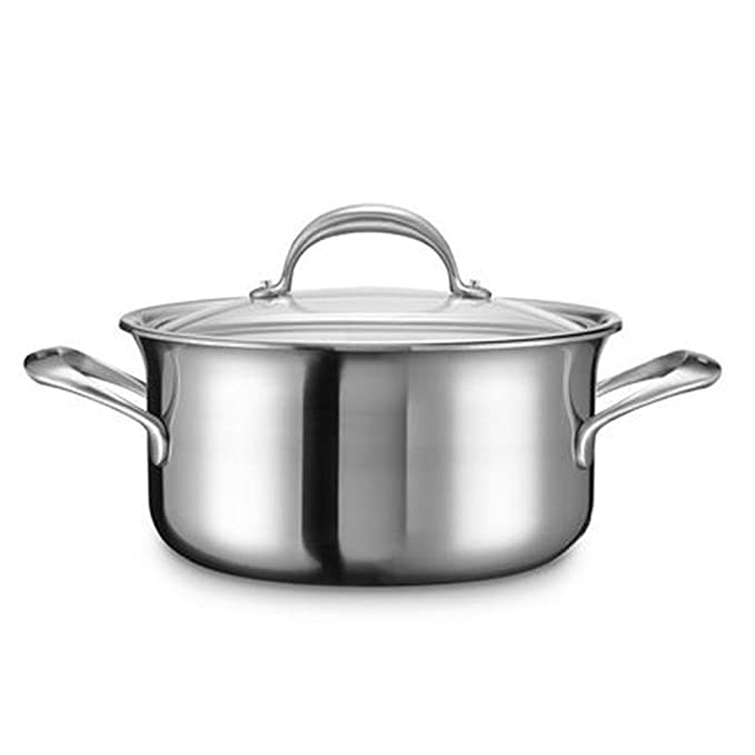 Kitchenaid kc2 C60lcst Olla, Acero Inoxidable, 24 x 24 x 7 cm, Plata ...