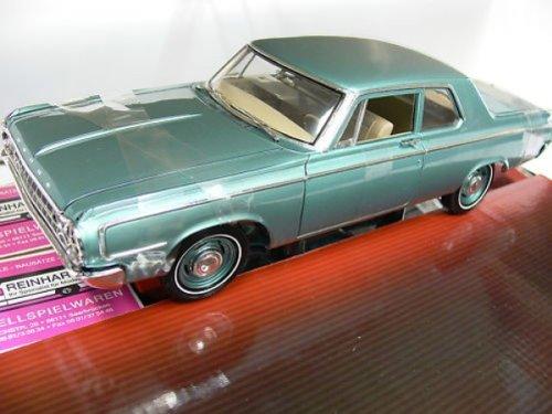 #50046 Highway 61 1964 Dodge 330 Series Sedan,Turquoise 1/18 Scale Diecast