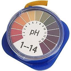 TOOGOO 5m pH Alkaline Acid Test Paper Water Litmus Testing For Gardening Aquarium Plant
