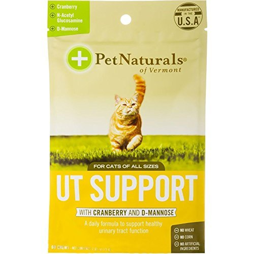 - Pet Natural's of Vermont 60 Count Urinary Tract Support Supplement Soft Chews for Cats by Pet Natural's Of Vermont