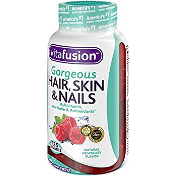 Vitafusion Gorgeous Hair, Skin & Nails Multivitamin, 135 Count (Packaging May Vary) 2