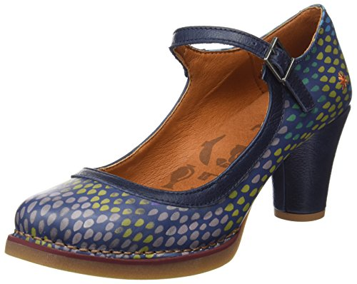 Drops Tropez Heel St Shoes Fantasy Art Blue Women's P0wSq844A