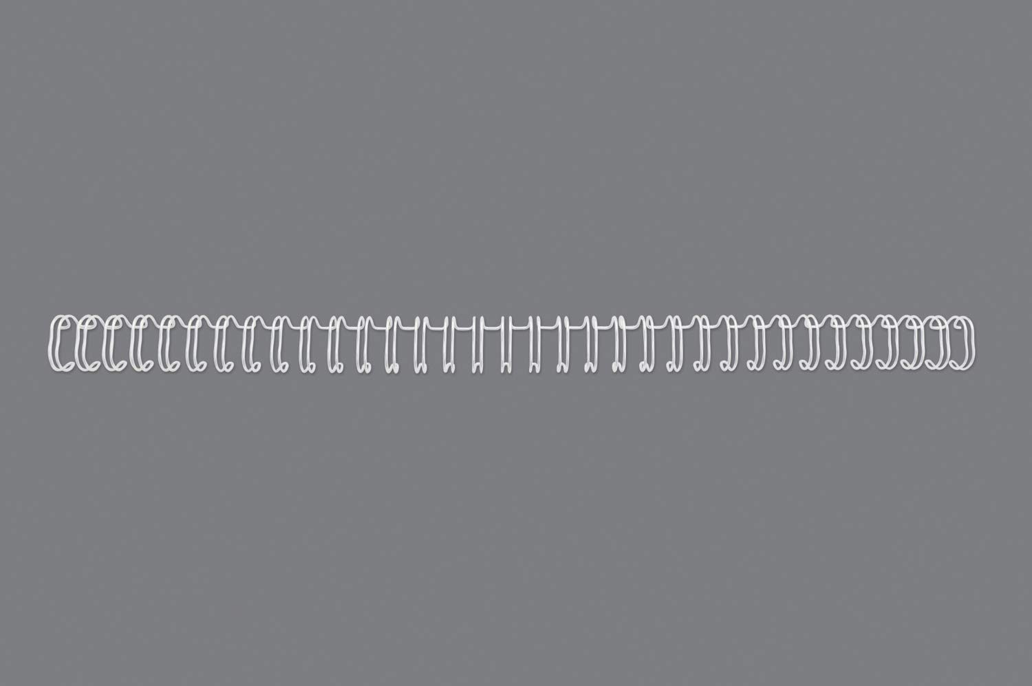 A4 GBC WireBind Binding Wires Pack of 100 14 mm RG810970 White 125 Sheet Capacity