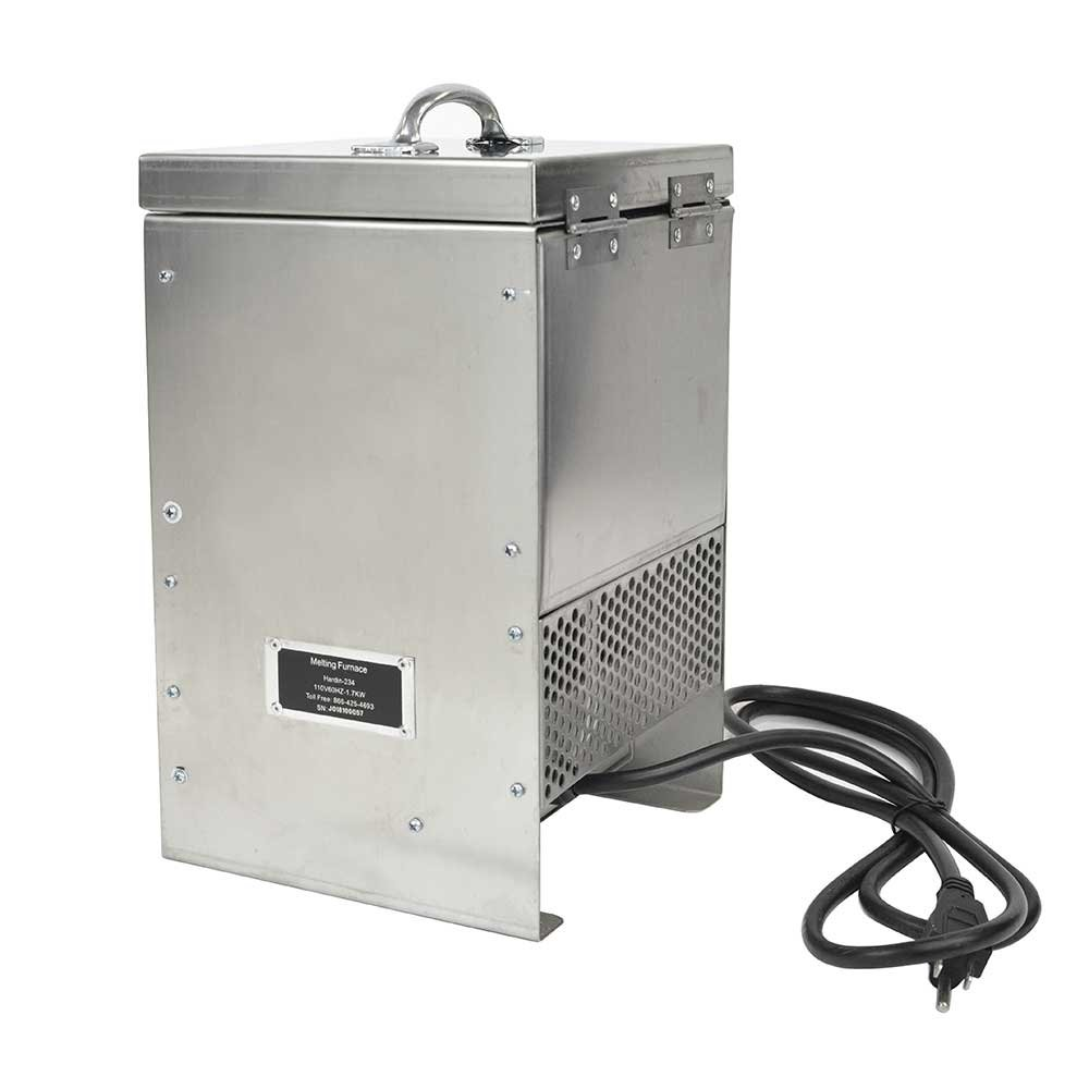 Hardin HD-2344SS Stainless Steel Tabletop Melting Furnace with 4 Kilogram Crucible 110 Volt by Hardin (Image #3)