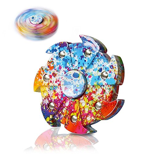 Price comparison product image Fidget Spinner Toy, VOLADOR Finger Gyro Hand Spinner Stress Reducer Perfect For ADHD, Anxiety, ADD, Autism Kids & Adults