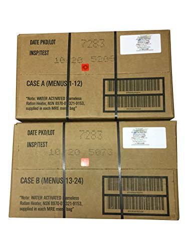 MRE (Meals-Ready-To-Eat) Case-Inspection 10/2020 or Better-ACM MRE Case (Case A & B Combo)