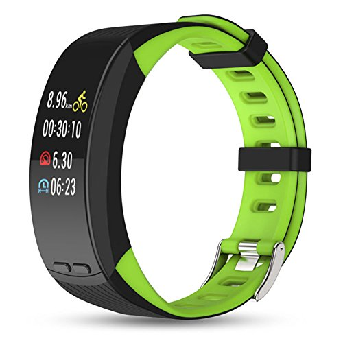 TJ Wristband Color Screen Smart Bracelet GPS Outdoor Running Cycling Sports Bracelet Heart Rate Waterproof And Other Multifunctional Sports Bracelet by TJ