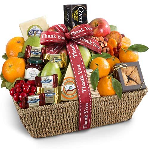 Golden State Fruit Thank You California Farmstead Fruit Gift Basket