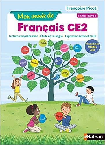 Mon Annee De Francais Ce2 Ficher Eleve 1 9782091249650