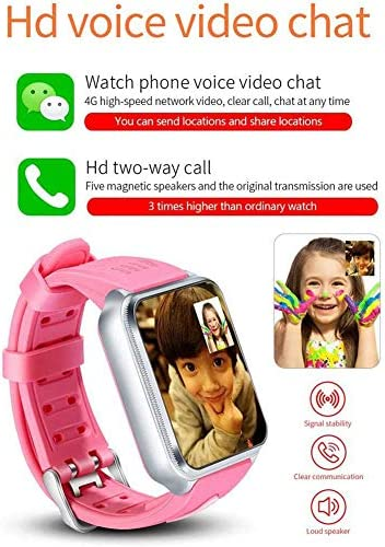 Smart Watches for Kids, GPS LBS Tracker 4G Phone Watch with Dual Camera/SIM Card Slot for Call/Message/WeChat Video Voice Chat/Game/WiFi 51IvPHr 2BncL