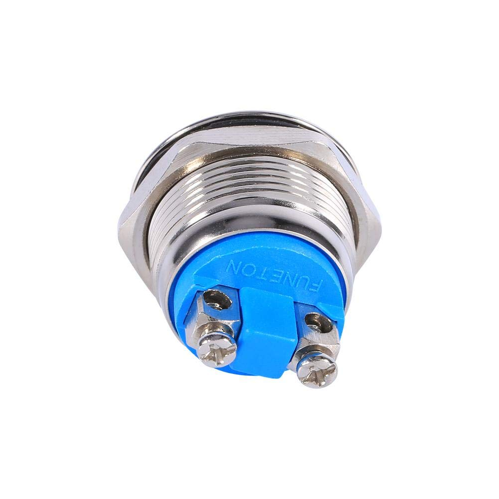 19mm 12V Car Push Button Switch Round 12V Waterproof Car Push Button Toggle Momentary Switch