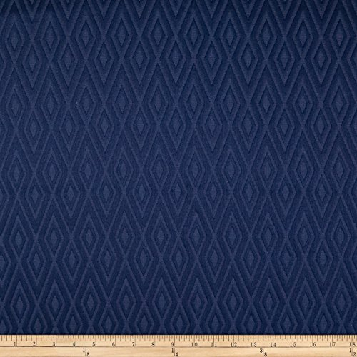 Matelasse Upholstery Fabric (Waverly Fantastical Matelasse Navy Fabric By The Yard)