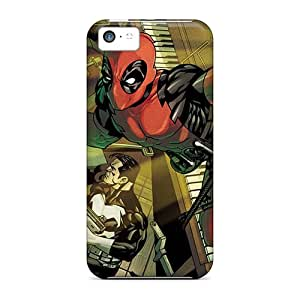 Iphone 5c Fzk7148slni Custom Trendy Deadpool I4 Series Perfect Hard Phone Case -SherieHallborg