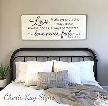 Amazon Com Ruskin352 Wood Sign Plaque Master Bedroom Wall Decor