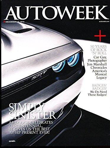 2015 Dodge SRT 66-page Brochure Magazine - Challenger Charger Viper ()