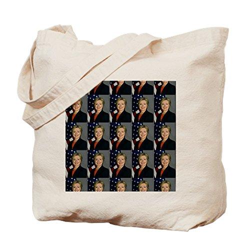 CafePress–Hillary Clinton–Gamuza de bolsa de lona bolsa, bolsa de la compra Small caqui