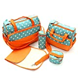 Waterproof Diaper Backpack Tote Bags Large Capacity Baby Nappy Bag Mummy Bag Pretty Baby Convertible Diaper Bag