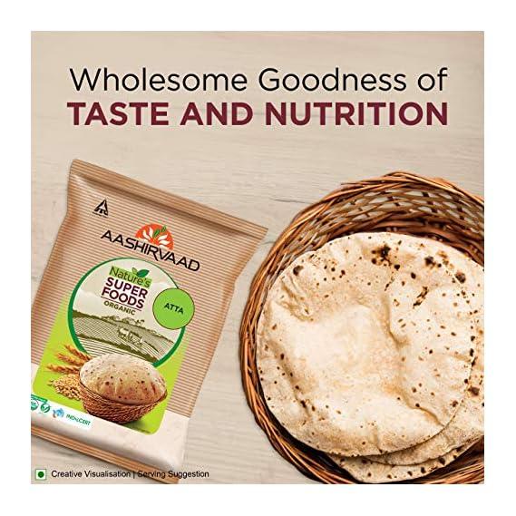 Aashirvaad Nature's Super Foods Organic Atta 5Kg