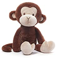 Gund Baby Nicky Noodle Monkey Stuffed Animal