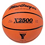 MacGregor X2500 YMCA Logo Outdoor Rubber 27.5 Youth Basketball