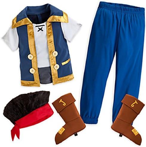 Disfraz de Jake para niños de Disney, Talla 7/8, con Etiquetas ...