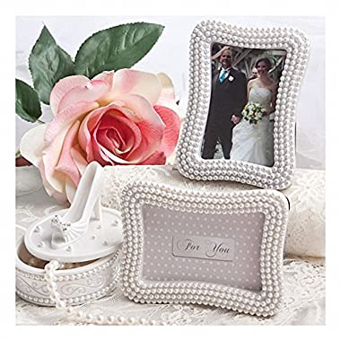 Pretty Pearl Photo Frames / Placecards , 24