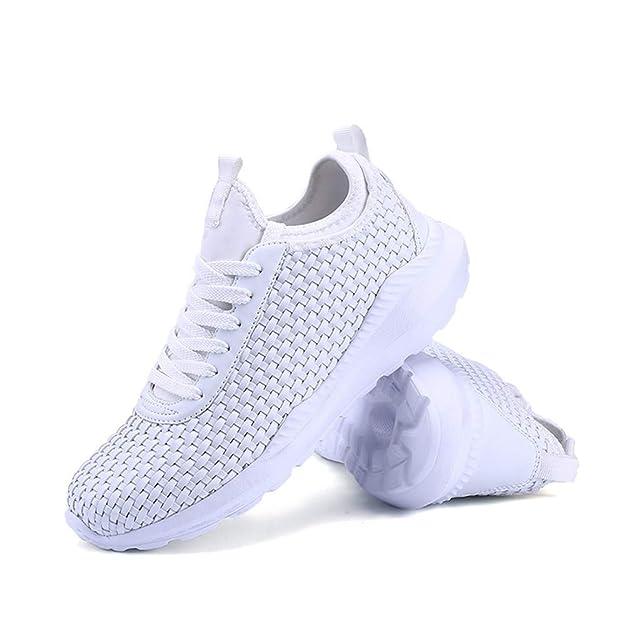 Makalon Moda Ocio Correr Calcetines Zapatos de Mujer Damas Estudiante Elástico Casual Zapatillas Ligeras Zapatillas Deportivas para niños Botines Zapatos ...