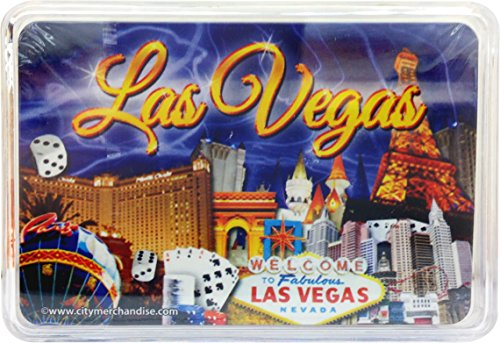 (CityDreamShop Welcome to Las Vegas Skyline Souvenir Casino Playing Cards)