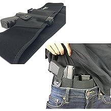 Belly Band Holster For Concealed Carry | IWB Holster | Waist Band Handgun Carrying System | Hand Gun Elastic Holder For Pistols