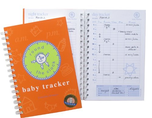 Baby Tracker for Newborns - Round-the-Clock Childcare Journal, Schedule Log Time Too® RTC-10