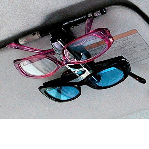 Seiko EC-38 Car Sun Visor Clip Sunglass Eye Glass Double Twins Holder Organizer Universal