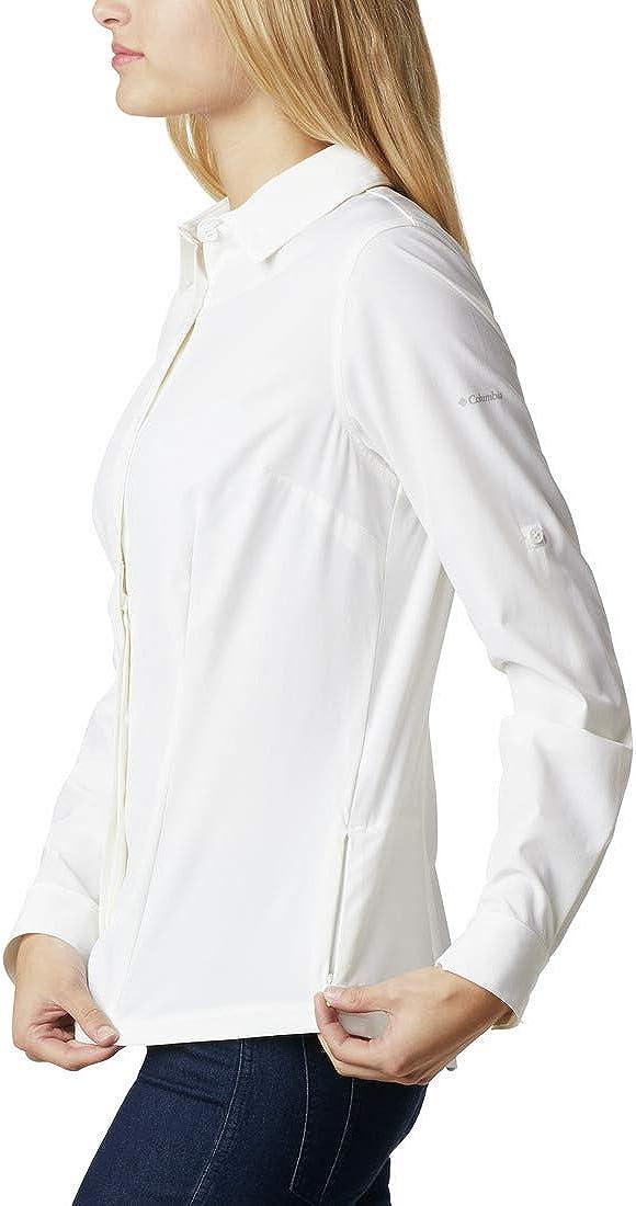 Maglietta A Maniche Lunghe Elasticizzata Donna Columbia Saturday Trail