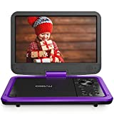 "COOAU 12.5"" Portable DVD Player with HD Swivel"