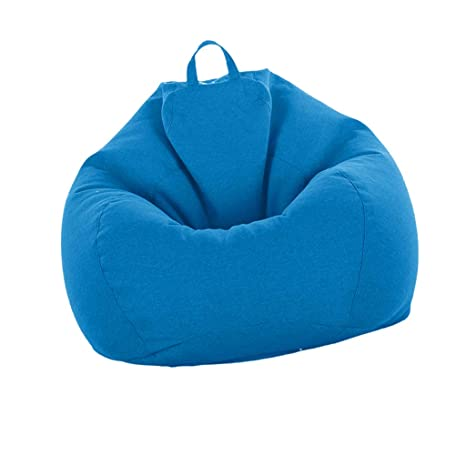Amazon Com Fenteer Large Bean Bag Cover Without Fillings Stuffed