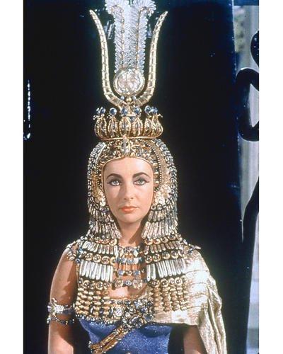 Cleopatra Elizabeth Taylor Striking Head Dress 8x10 HD Aluminum Wall Art