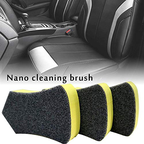 colinsa Nano Cleaning Brush Felt Cleaning Tool, Suitable For Car Leather Seats, Car Interiors And Other Details Of The Cleaning Brush: Kitchen & Home