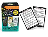 Tattoo Goo Aftercare Kit (4-In-1) Containing Tattoo Goo Balm + Tattoo Goo Deep Cleansing Soap + Tattoo Goo Aftercare Lotion and Tattoo Goo Renew Lotion (FREE.'Tattoo After Care Instruction Card')