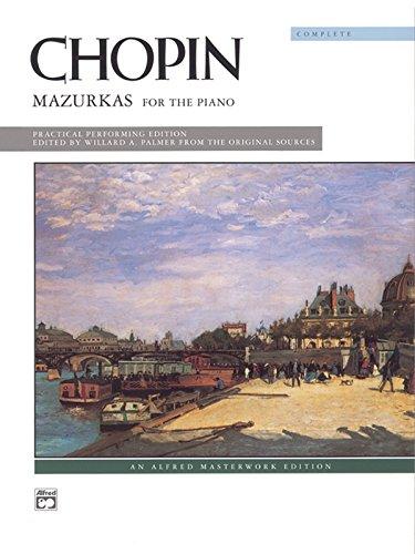 Chopin -- Mazurkas (Complete): Comb Bound Book (Alfred Masterwork Edition)