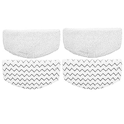 Dttery 4 Pack Replacement for Bissell PowerFresh Steam Mop Pads 1940 1544 1440 Series 1806 1940A 1940W 19404 19409 1544A 15441 2075A 2181,5938