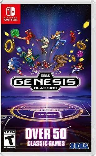Amazon.com: Sega Genesis Classics - Nintendo Switch: Sega of ...