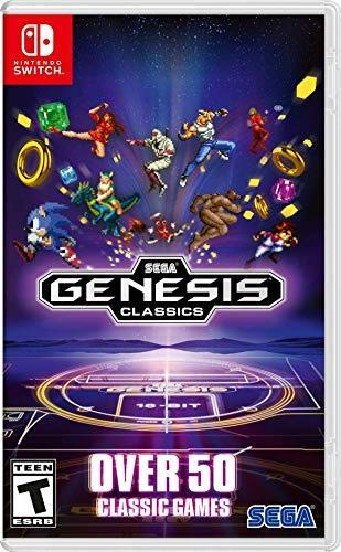 Amazon com: Sega Genesis Classics - Nintendo Switch: Sega of America