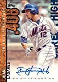 2015 Topps Career High #CH-JL Juan Lagares Certified Autograph Baseball Card
