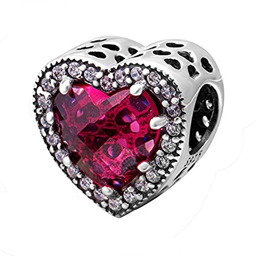 Buy authentic pandora charms red