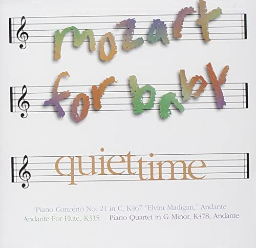 Mozart For Baby: Quiet Time [Audio CD] Various