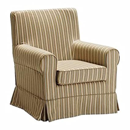IKEA EKTORP JENNYLUND funda para sillón, marrón claro ...