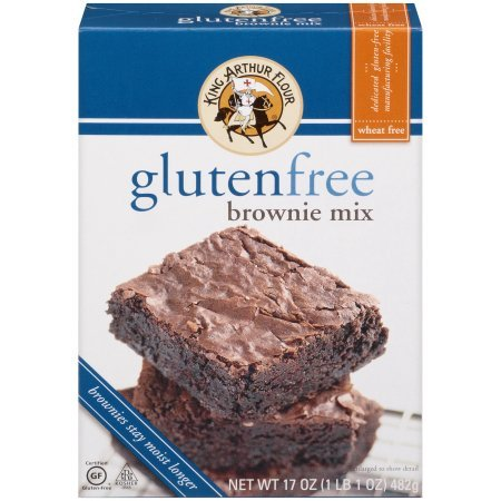 PACK OF - 8 King Arthur Flour Gluten Free Brownie Mix 17 oz. Box by Great Value (Image #7)