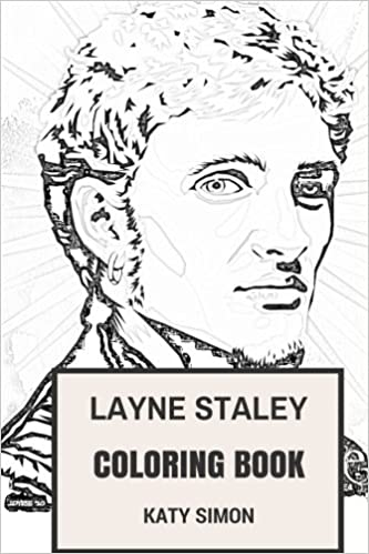 Amazon.com: Layne Staley Coloring Book: Alice in Chains Frontman and ...