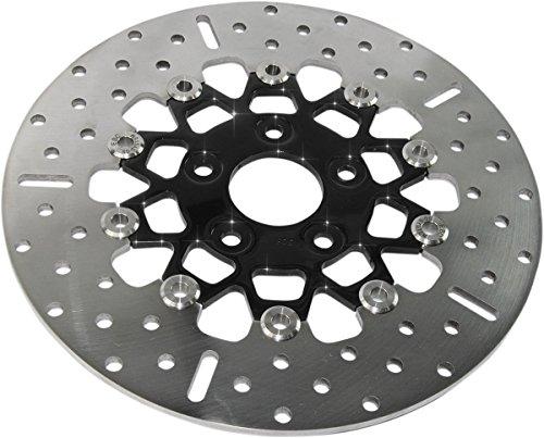 K Black Chrome Full Floating Contour Rotor ()
